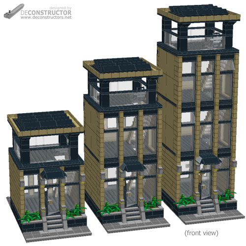 lego office building. What Is Included With The Instruction Pack: Lego Office Building P
