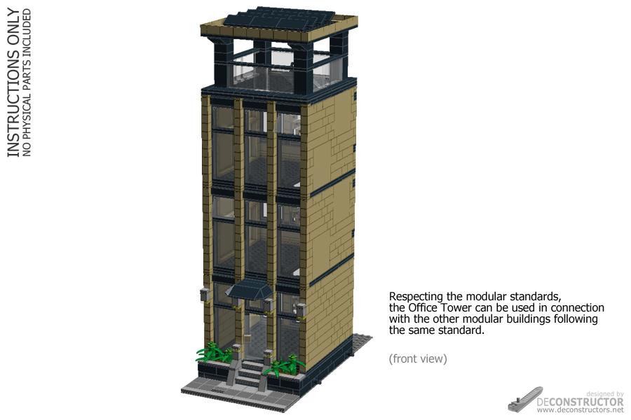 Lego Modular Buildings Instructions Pdf