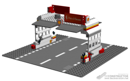 Shell Gas Station Extended, by deConstructor
