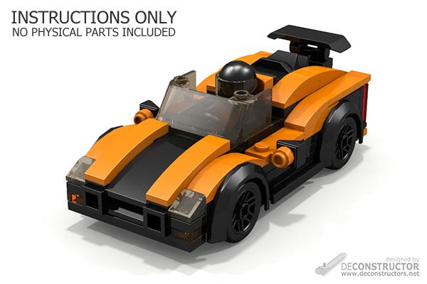 Scorpio 2k Sports Car Building Instructions Deconstructors