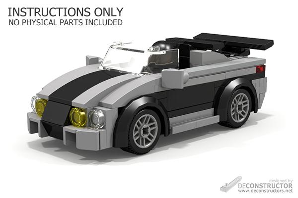 Shadow Racer Sports Car Building Instructions Deconstructors