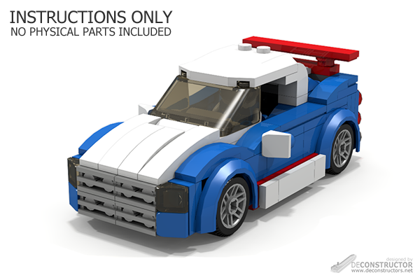 Building Instructions For Custom Lego Models