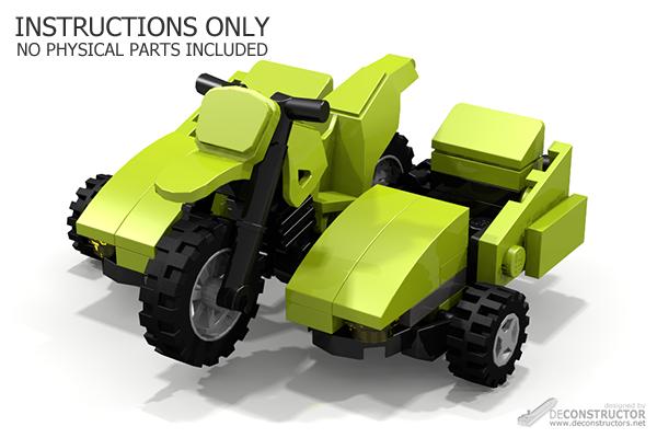 Double Sidecar Free Building Instructions Deconstructors