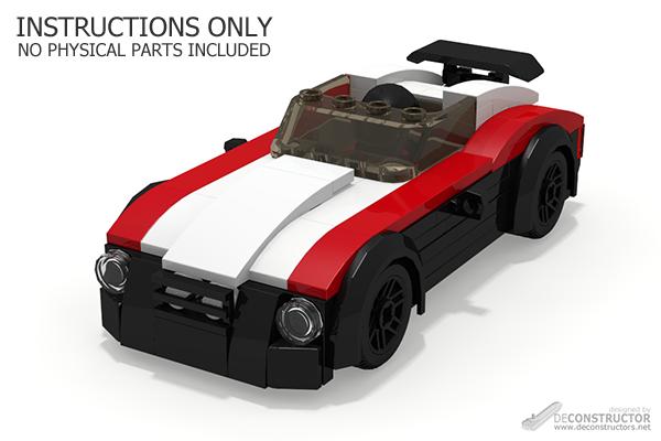 Speedster Xc3 Sports Car Building Instructions Deconstructors